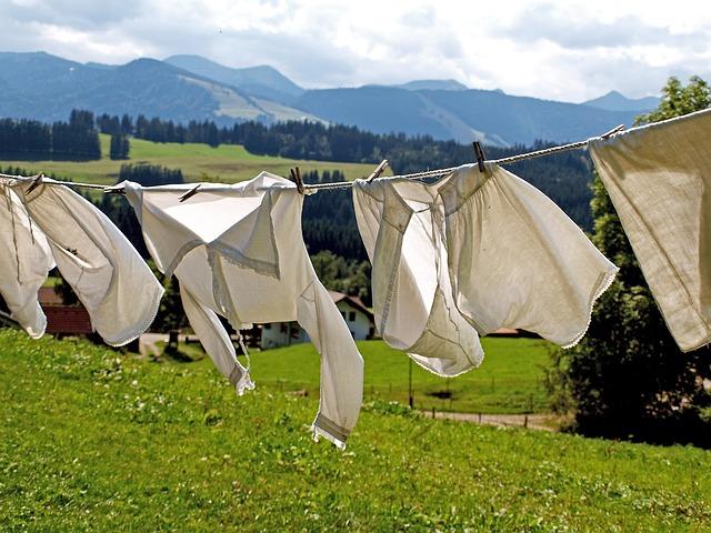 suché prádlo