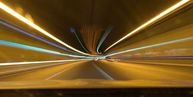 světla za auty