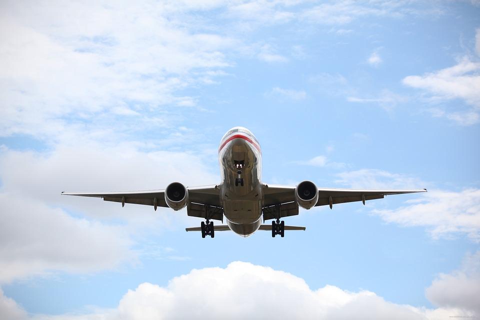 letadlo a nebe